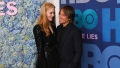 Keith Urban Smiling With Nicole Kidman