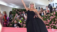 Lady Gaga in a Black Dress at the 2019 Met Gala
