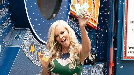 Jenny McCarthy National Asthma and Allergy Awareness Month Amazons Treasure Truck Puffs Magic Garden