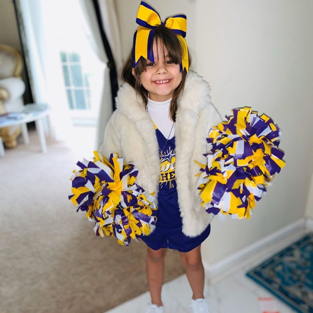 Jersey Shore Star DJ Pauly D's Daughter Amabella Is a Cheerleader