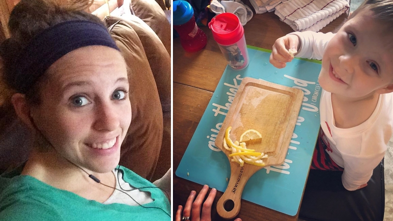 Jill Duggar Is Feeding Her Son 'Sliced Lemons and Salt' As a Snack … So Yeah, That's Enough Internet for Today