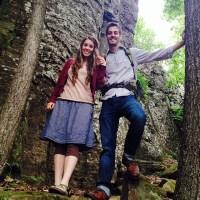 Jill Duggar May 2014 Hiking