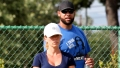 Kendra Wilkinson and Hank Baskett Reunite for Kids' Soccer Game