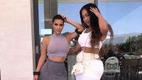 Kim Kardashian Jordyn Woods Lookalike