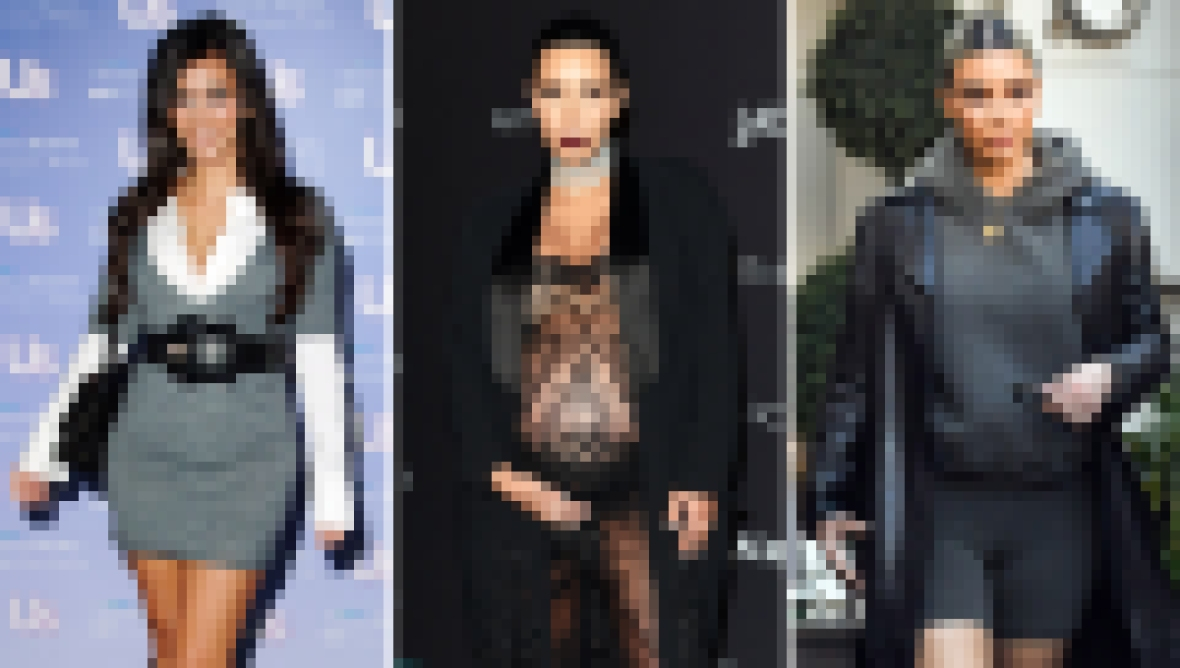 Kim Kardashian Transformation Over Years