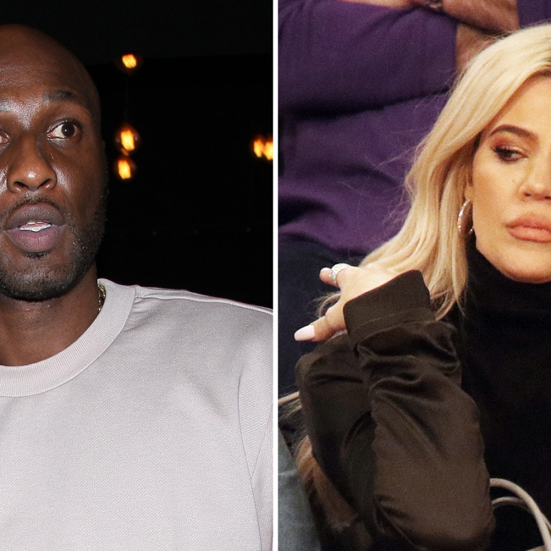 Lamar Odom Claims Khloe Kardashian Beat Up Stripper in Hotel Fight