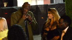 Lamar Odom With Mystery Woman