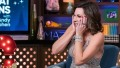Luann de Lesseps Wearing a Shiny Dress on Watch What Happens Live