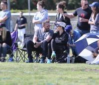 Ben Affleck Sitting With Jen Garner