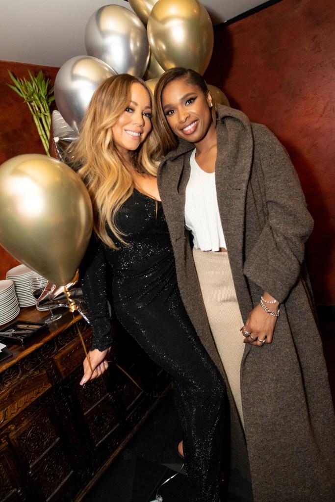 Mariah Carey and Jennifer Hudson