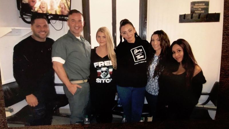 Here's the Situation: Mike Sorrentino Posted a Pic With the 'Jersey Shore' Crew From Prison