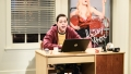 Pete Davidson Sitting at a Computer During an Episode of SNL