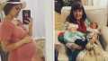 Pregnant Jessa Duggar and Grandma Mary