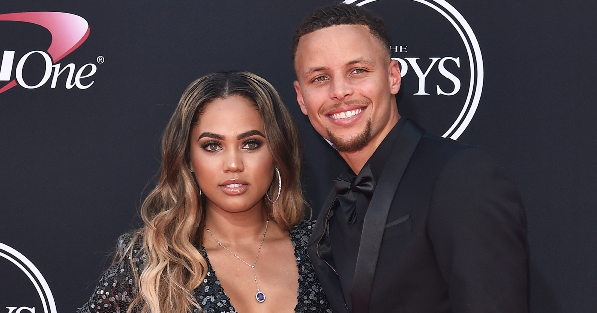 steph curry defends wife after backlash over  u0026 39 male