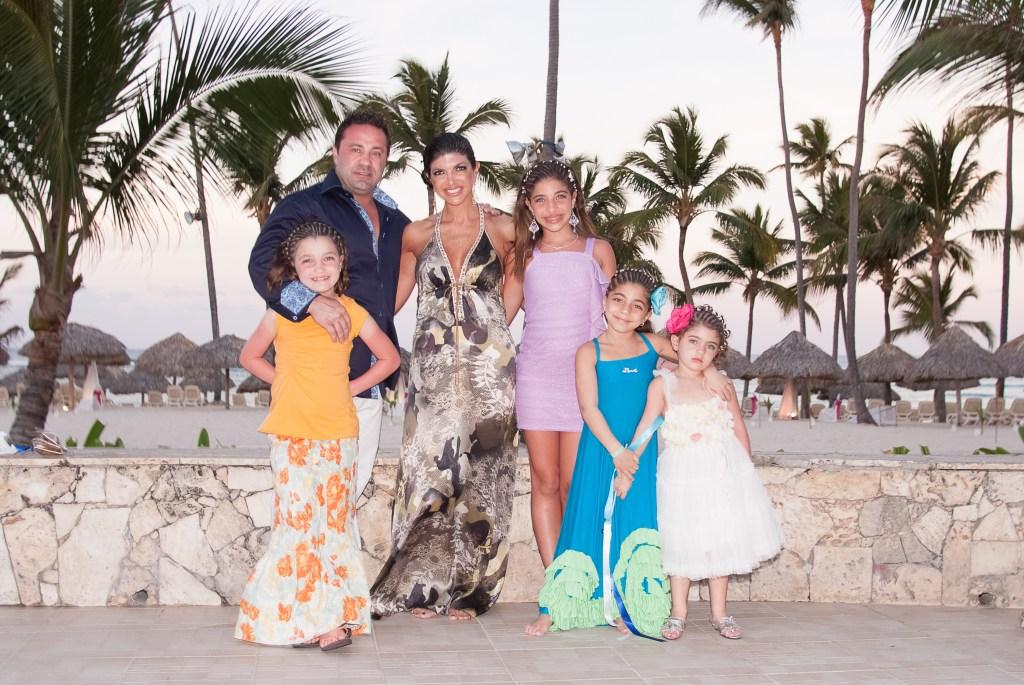 The Giudice Family on Vacation