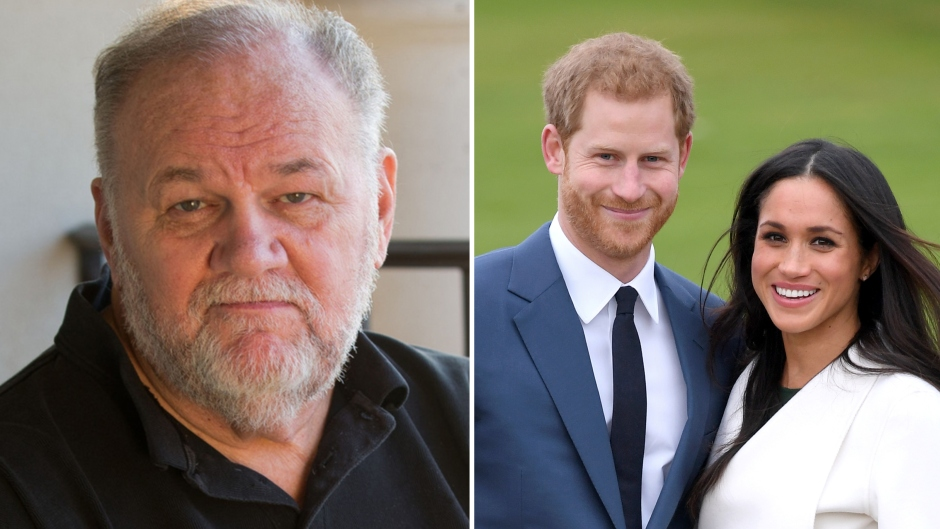 Meghan Markle, Prince Harry, Thomas Markle