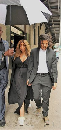 Wendy Williams and Son Kevin Jr. Smile and Hold Hands After He Was Arrested for Allegedly Punching His Father