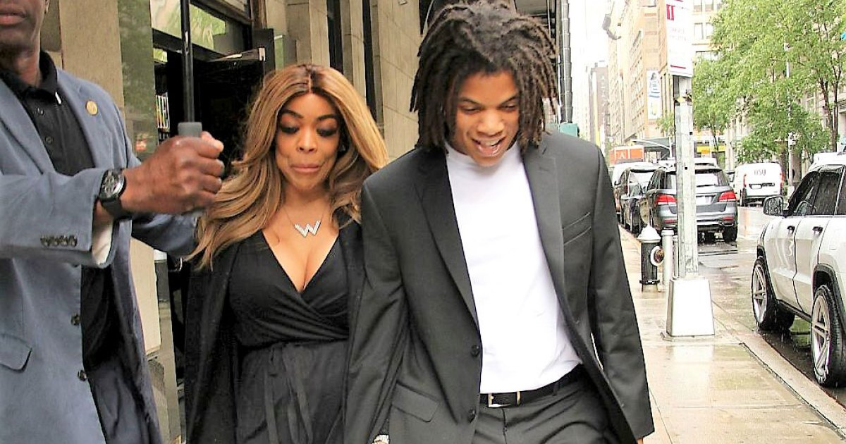 Wendy Williams And Son Kevin Hunter Jr All Smiles After