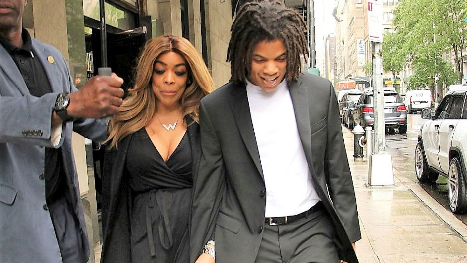 Wendy Williams and Son Kevin Jr. Smile and Hold Hands After He Was Arrested for Punching His Father