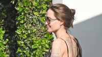 angelina jolie back tattoos son pax