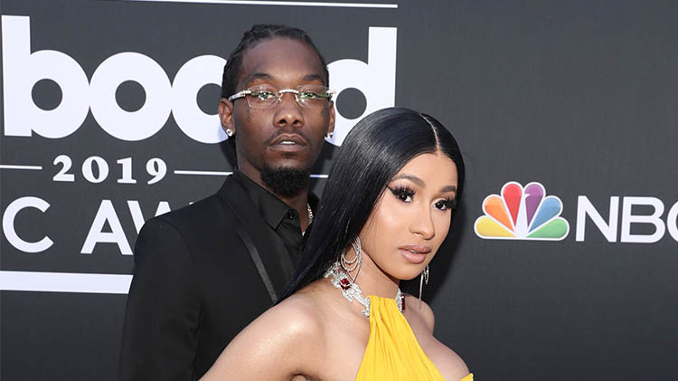 cardi b offset first mothers day