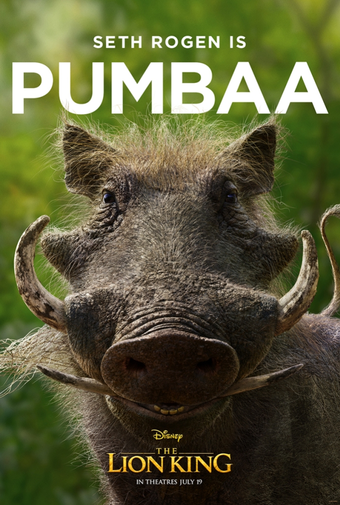 Fan Reactions The Lion King Live action Pumbaa