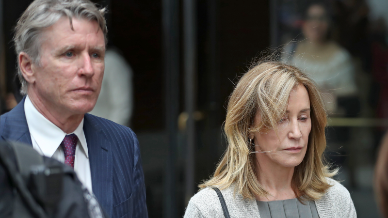 ExclusiveFelicity Huffman Is 'Worried' Jail Time Means 'She'll Never Get to See Her Family'