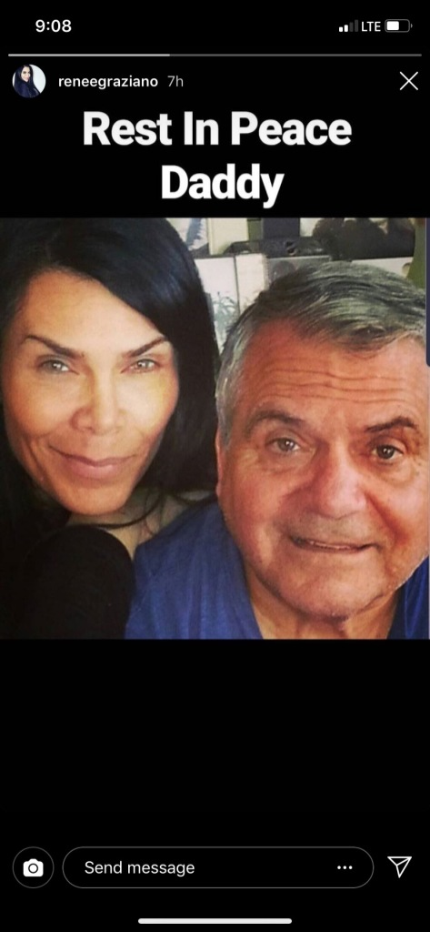 renee graziano father anthony dead