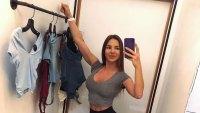 Anfisa Nava Poses In Closet