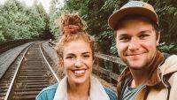 Jeremy Roloff Takes Selfie With Wife Audrey on Train Tracks