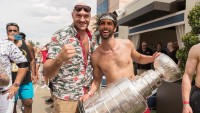 Tyson Fury and St. Louis Stanley cup Winner Robert Bortuzzo