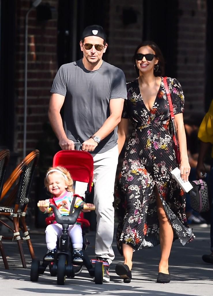 Bradley Cooper Irina Shayk Daughter