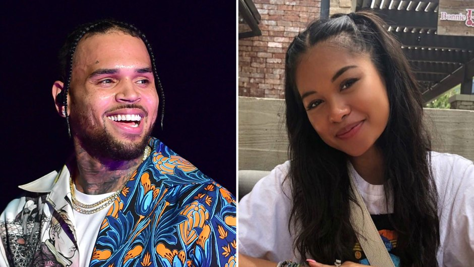 Chris Brown and Ammika Harris Baby Due