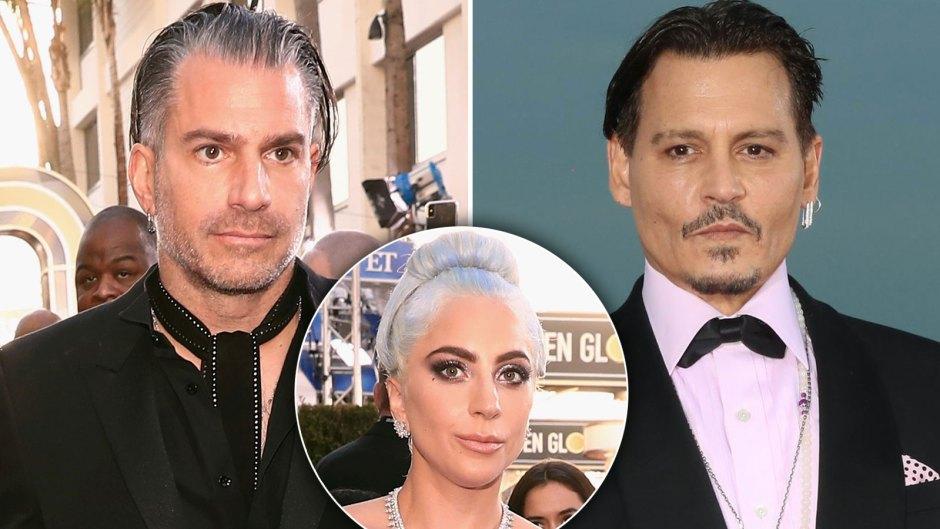 Christian Carino Says Johnny Depp Helped Him 'Heal' Following Split From Lady Gaga