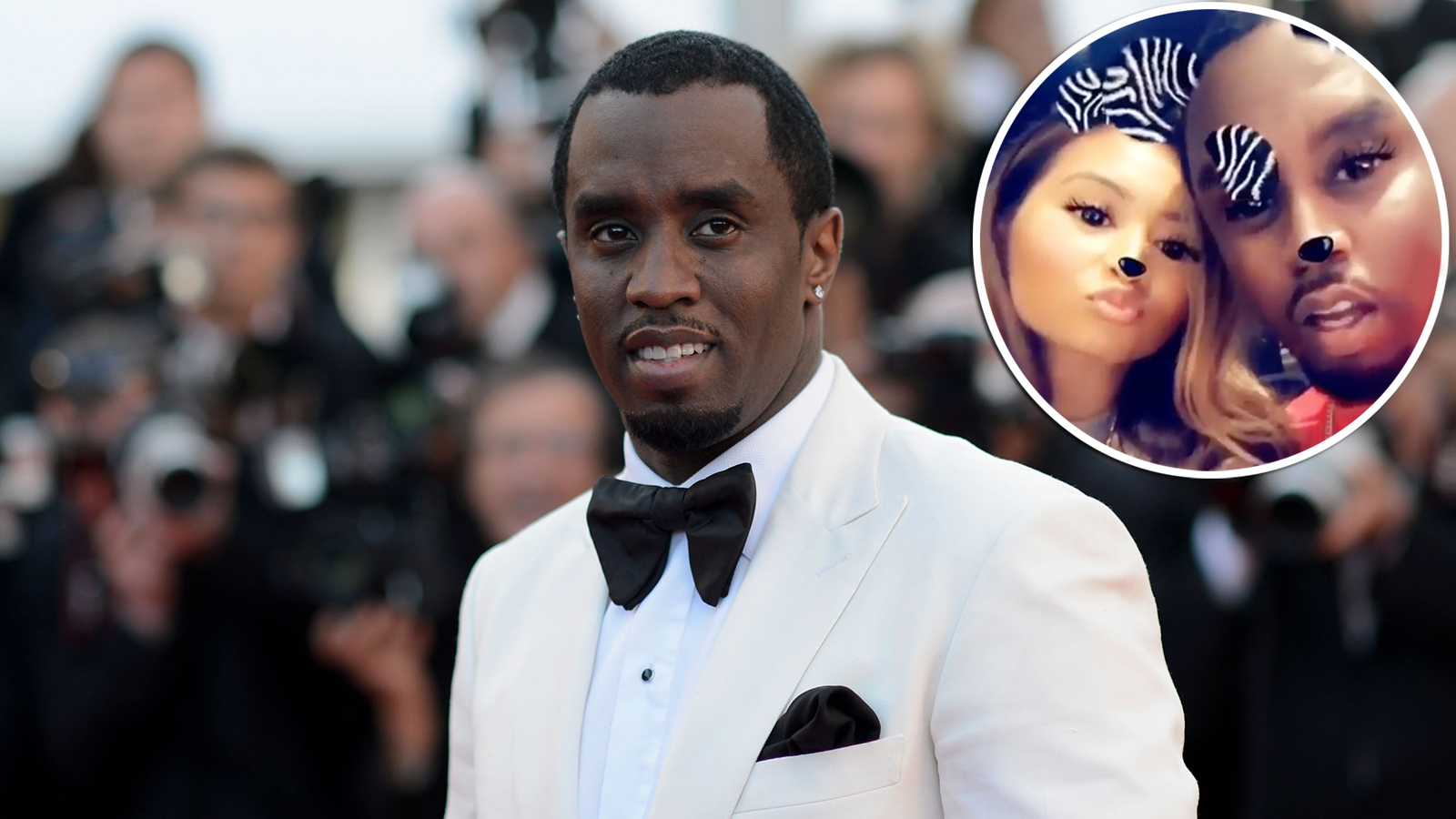 Diddy and New Girlfriend Gina Huynh Pack on PDA: Pics