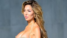 Farrah Abraham leaves little to the imagination as she showcases her incredible bikini body