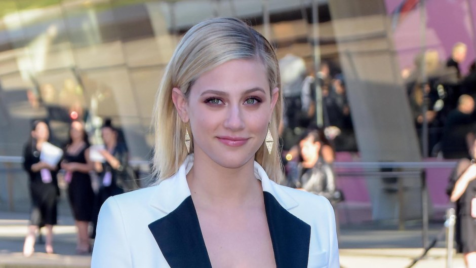Lili Reinhart fake uber driver scary airport story riverdale white suit