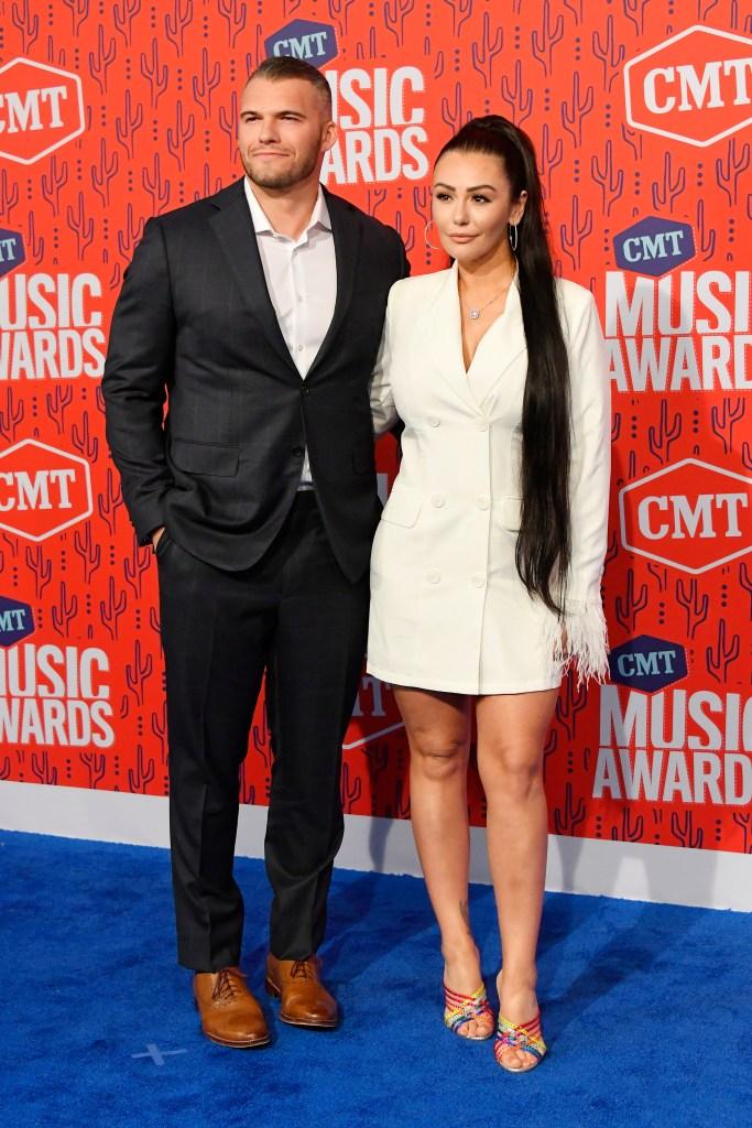 Zack Clayton Carpinello and JWoww 2019 CMT Awards