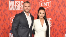 Zack Clayton Carpinello and JWoww 2019 cmt awards red carpet country music singers awards show