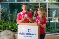 Granger Smith Visits Dell Children's To Present Donation In Memory Of His Son River