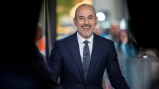Matt Lauer Smiling on the Today Show
