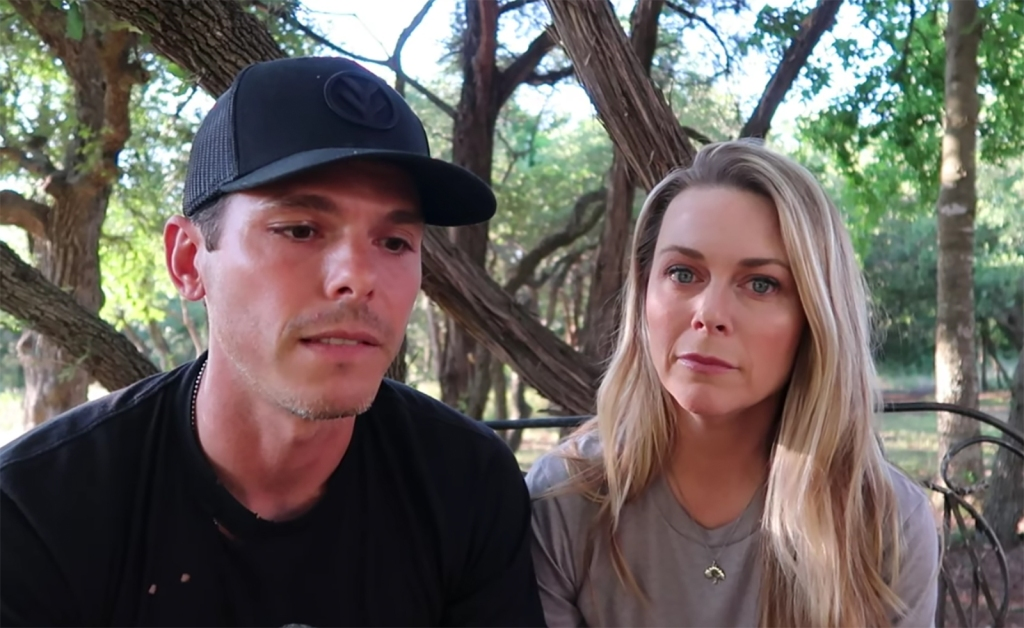 Granger Smith and Wife Looking Downtrodden