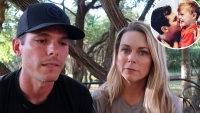Granger Smith and Wife with Inset with Son River