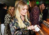 Hilary Duff Saint Prayer Candles