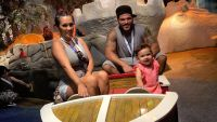 Ronnie Ortiz-Magro with Jen Harley and Their Daughter on a Ride