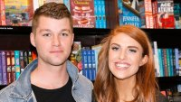 Jeremy Roloff and Audrey Roloff In A Book Store