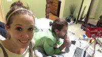Jill Duggar and Derick Dillard in the Bedroom