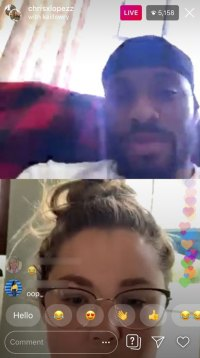 Kailyn Goes On Ig Live With Chris Lopez After Sharing Baby Plans