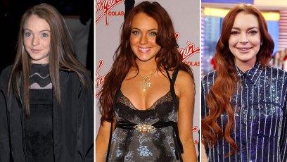 Lindsay Lohan Over the Years