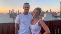 Miranda Lambert on the Rooftop With Brendan McLoughlin in NYC